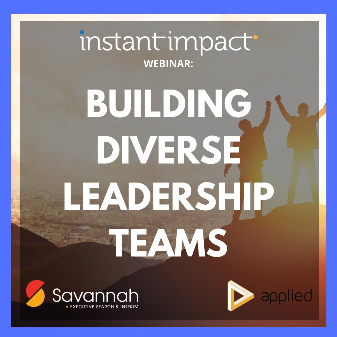 Building diverse leadership teams (1)